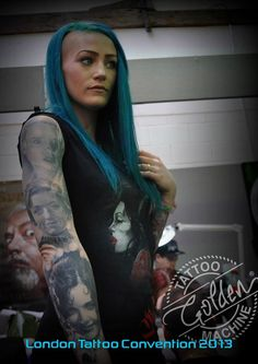 The 9th London International Tattoo Convention - 2013 Golden Tattoo Machine® - All Rights Reserved  #GoldenTattooMachine #LondonTattooConvention #2013 #9thLondonTattooConvention #Tattoo #Tattoos