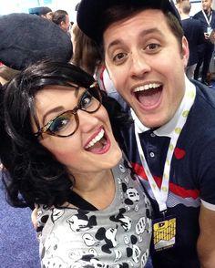Jenny Rae and Nick Pitera - VidCon 2016