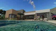 """Planos de Casas:  Proyecto de Arquitectura """"Bahía Blanca"""""""