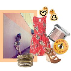 Casual Saturday by croxz on Polyvore featuring Fat Face, GUESS, Hillier London, Bobbi Brown Cosmetics, Burts Bees, saturday, summer, casual saturday and causal