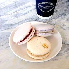 #macarons x #coffee :: Colette Grand Cafe, #Toronto