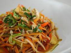 Salteado de verduras y curry