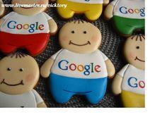 Расписные пряники. Человечки Google пряник корпоративный сувенир. Cookies decorated.