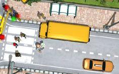Okul Servisi kullanırken yoldan geçen yayalara dikkat etmeli trafik kurallarına uymalısınız. Ayrıca aracı sarsıntısız bir şekilde kullanarak çocuklara konforlu bir seyahat yaşatmak zorundasınız.  http://www.kolayoyun.com/okul-servisi.html