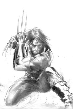 alexhchung:  Ultimate Origins #1 by Gabriele Dell'Otto