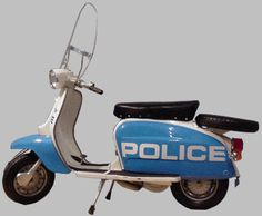 Did you know that the NYPD once patrolled the streets on Lambretta scooters?