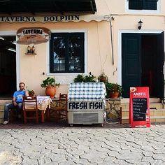 Lazy morning in Vasiliki Lefkada Island Greece Lazy Morning, Greek Islands, Allrecipes, Food Inspiration, Travel Photography, Greece Travel, Instagram Posts, Outdoor Decor, Restaurants