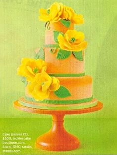 Wedding Cake Stands In The Press | Sarah's Stands