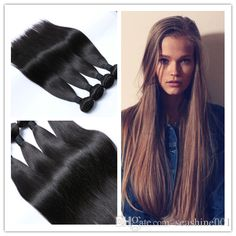 virgin brazilian hair extensions straight hair weaves unprocessed brazilian hair wefts any color natural color double wefts free shipping from seashine001 can help your hairs look thicker. best hair for weaving are made of human hairs. Using best hair for weaves and best weave hair can make you feel more confident.