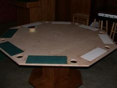 poker table instructions