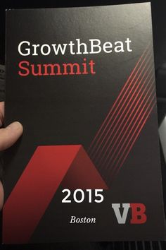 Check out my story on Steller about #GrowthBeat by #venturebeat