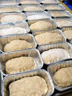 Making bread in a bag