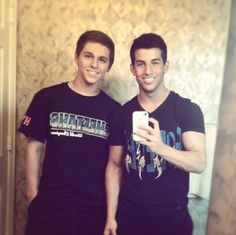 WELL HELLO THERE MATT SMITH AND CARSON RAPSILVER.  Just killing me with your faces nbd... #cheerathleticsboys
