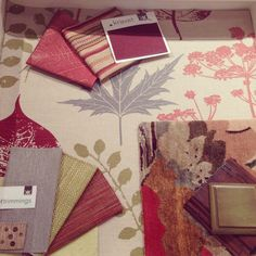 Fall Fabric Inspiration! Fabric, trim, wood, and carpet by Kravet!