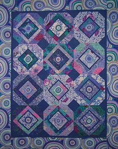 Kaffe Fassett Summer Breeze quilt.