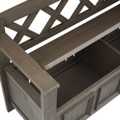WYNDENHALL Halifax SOLID WOOD 48 inch Wide Transitional Entryway Storage Bench - 48 Inches wide - On Sale - Overstock - 7326885 Entryway Bench Storage, Bench With Storage, Storage Spaces, Plywood Storage, Traditional Benches, Storage Compartments, Solid Wood, Furniture, Mudroom