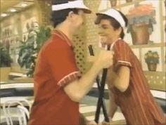 "McDonalds super old training video/Michael Jackson parody lol ""Clean It"""