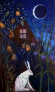 The Quiet Moon by Catherine Hyde...thanks Lopez Bunny Ranch