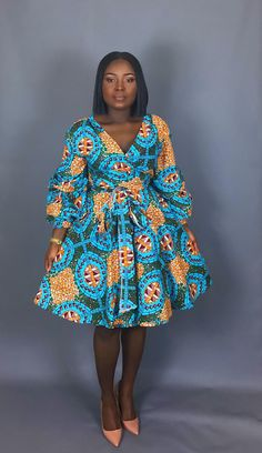 NEW IN: African clothing African print dress wrap dress women's clothing dashiki dress robe wax skirts maxi skirts handmade clothing Latest African Fashion Dresses, African Dresses For Women, African Print Dresses, African Print Fashion, African Attire, African Wear, African Women, Fashion Prints, African Prints