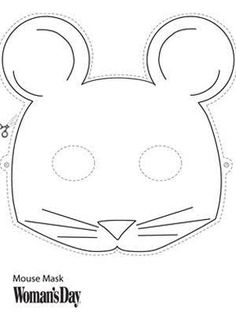 Image result for mouse mask simple