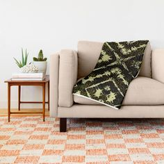 Inkatha Gold Throw Blanket by Vikki Salmela | Society6, #gold #black #elegant rich #pattern #art on #home #fashion #accessories. Decorate your home or #office just in time for the #holidays. Coordinating products available; throw #pillows #clocks #rugs #towels #comforters and more.