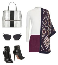 A fashion look from July 2015 featuring patterned cardigans, slimming tops and short mini skirts. Browse and shop related looks. Mini Skirts, Fashion Looks, Polyvore, Outfits, Shopping, Tops, Suits, Mini Skirt, Kleding