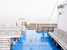 To the island, a photo taken during a winter trip to the Greek islands - fine art print from an original photograph by Katerina Pimenidou.