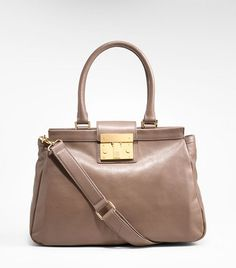 norah large satchel in elephant grey. perfect for spring... and fits an iPhone wallet, makeup bag, sunglasses and an iPad!