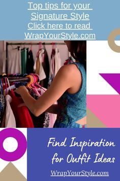 """Signature style starts with inspiration for outfit ideas that convey the """"new you"""". The way we gain our inspiration is by analyzing what we already have.#signaturestyle #personalstyle #style #womansfashion #wardrobebasics #fashioninspiration"""