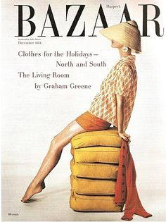 Vintage Harper's Bazaar covers from the 1940s and 1950s