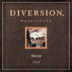 Diversion Washington Merlot, 750 mL Wine ** Check this awesome image @