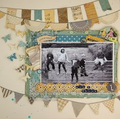 by Katherine Sutton...reminds me of the kids climbing on the hay wagons at mom and dad's