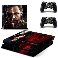 METAL GEAR SOLID 5: THE PHANTOM PAIN Sony PS4 Console Skin Kit //Price: $17.95 & FREE Shipping //     #manga #animes #movie #onlinestore #fans #movies