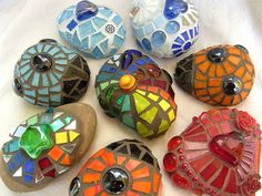 Lots and lots of mosaic stones by Waschbear - Frances Green, via Flickr