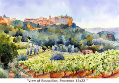 View of Roussillon - Marie Gabrielle