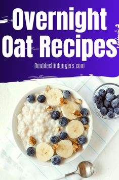 Healthy and easy overnight oat recipes for weight loss. Overnight oats are great for meal prep, make for a healthy breakfast will help you with weightloss and will make you love mornings. Healthy Overnight Oats || Healthy Overnight Oats Recipe || Easy || Peanut Butter || Morning || Breakfast || Protein || In a Jar || Weightloss || Quick || Healthy Overnight Oats For Weight Loss || Recipes || Mornings || Clean Eating || Healthy Breakfasts || Overnight Oatmeals #Mealprep Healthy Breakfast Recipes, Healthy Breakfasts, Eating Healthy, Clean Eating, Healthy Food, Healthy Living, Healthy Meals, Easy Overnight Oats, Healthy Recipes For Weight Loss