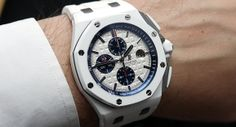 30 minutes on the wrist The Audemars Piguet Royal Oak Offshore Chrono White Ceramic