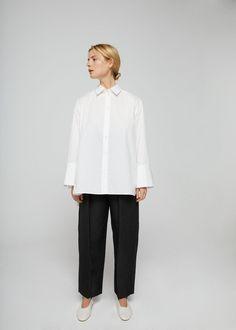 Camisa algodão oversize | MANGO