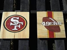 San Francisco 49ers Decor by VersesRusticDecor on Etsy, $35.00