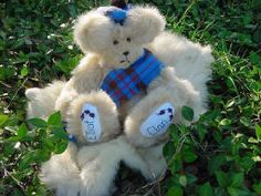 Elliot Clan Bear made by Terry Spear who's also a fabulous author.