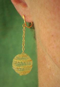 Little ball with a golden spiral