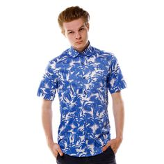 Limited edition shirt created by www.shirtwiseshop.com #limitededition #limitedserie #shirt #roundcollar #summer #printed #cotton #print #prints #palm #palms #tropical #shirtwise #shirtwiseshop