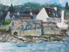 Seabank March Month, Scottish Highlands, Art Decor, Scenery, Fine Art, Artist, Handmade, Painting, Etsy