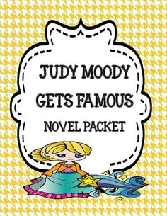 Judy Moody Gets Famous - Novel Study
