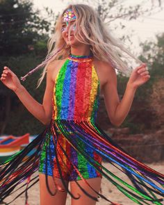 Looks incríveis para o Carnaval 2019 - Rio Model Management Festival Looks, Rave Festival, Festival Wear, Festival Fashion, Rave Outfits, Edgy Outfits, Fashion Outfits, Coachella, Pride Outfit