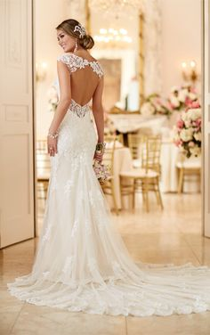 Romantic Lace Wedding Dress By Stella York - Style 6245