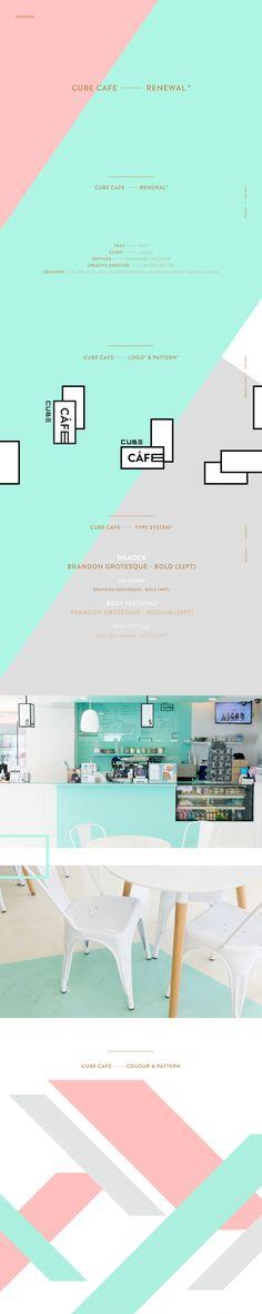 Cube Cafe Rebranding + Interior © 2015 minimalist