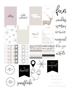 Free Planner Stickers | Red Sheep Prints