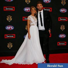 Kate & Cale at the Brownlow 2014
