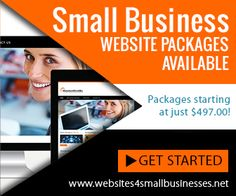 Small Business Website Packages Training Materials, Blog Writing, Business Website, Entrepreneurship, Get Started, Success